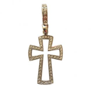 Theo Fennell Diamond Cross Pendant