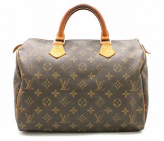 Louis Vuitton Speedy 30 Brown Monogram Bag