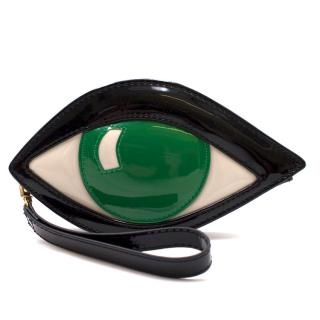 Lulu Guinness Emerald Eye Clutch