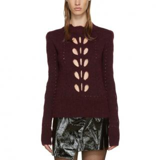 Isabel Marant Ilia Cut-Out Knit Sweater