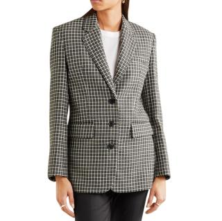 Helmut Lang Heritage Check Wool Jacket