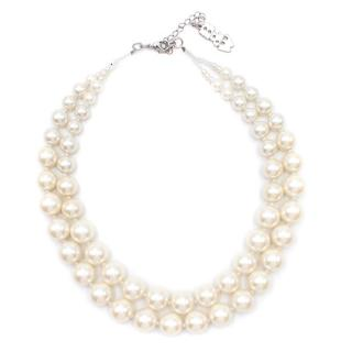 Butler & Wilson Faux Pearl Necklace
