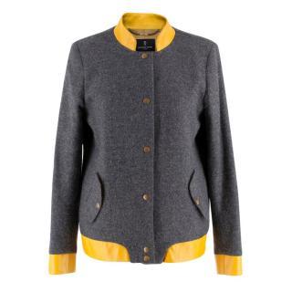 Katherine Hooker Grey Wool Jacket
