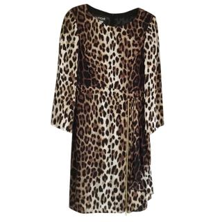 Boutique Moschino Leopard Print Dress