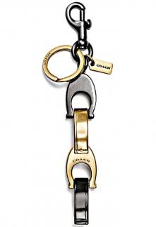 Coach large keychain