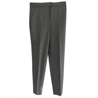 Moschino Grey Wool Trousers