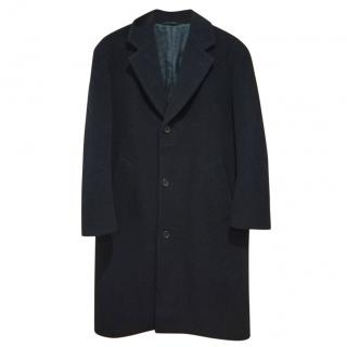 Hugo Boss 100% virgin wool long coat