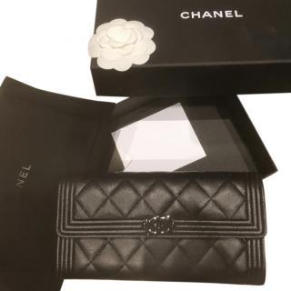 Chanel So Black Long Wallet
