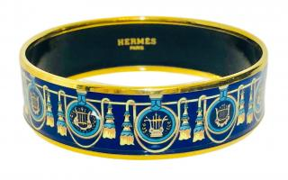Hermes Enamel Bangle