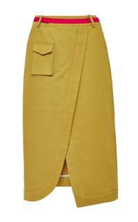 Ostwald Helgason Khaki Utility Skirt