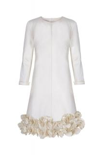 d61d702921829 Suzannah Jean Decorative Shift Cream UK size 12 RRP £4,000