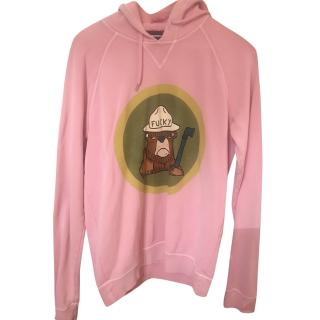 Dsquared2 Pink Beaver Hoodie