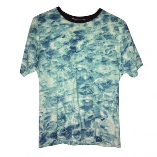 Wooyoungmi Tye dye print T-shirt