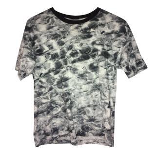 Wooyoungmi grey tye dye T-shirt