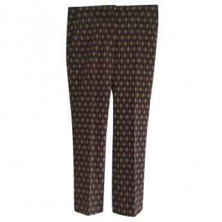 Prada Printed Tailored Trousers