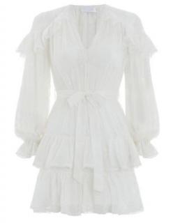 Zimmermann Lovelorn Frill Dress