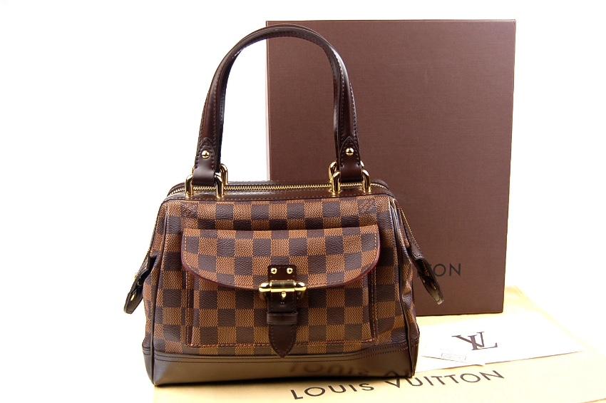a040bf1d4fd Louis Vuitton Damier Ebene Canvas Knightsbridge Doctor Bag