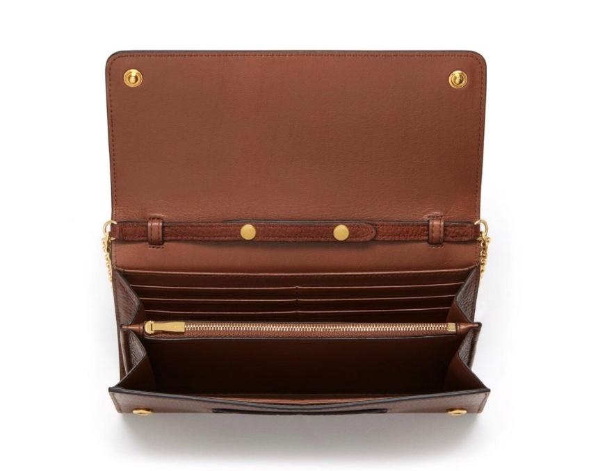 b32dace796 Mulberry Continental Oak Clutch Cross Body Bag. 26. 12345678910