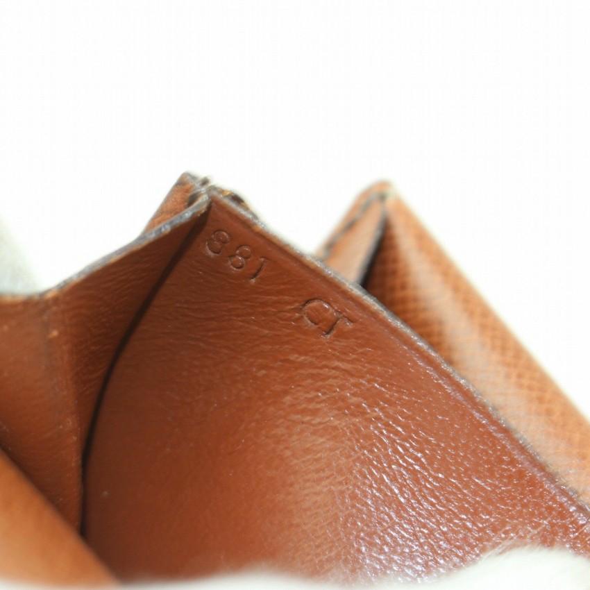 72b0cc0764b Louis Vuitton Porte Monnaie Gousset Brown Monogram Coin Purse