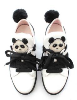Minna Parikka Kung Fu Leather Sneakers
