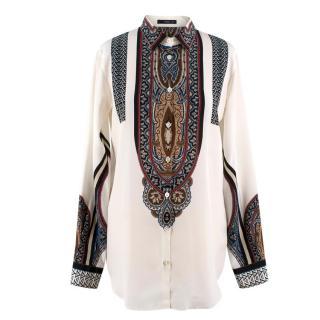 7489f45acc8c2 Etro Silk Patterned Shirt