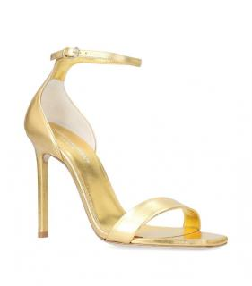 Saint Laurent Gold Amber Sandals