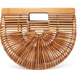 Cult Gaia Small Bamboo Ark Clutch