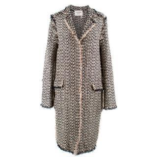 Lanvin Woven Lightweight Coat