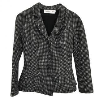 Dior Wool & Cashmere Check Blazer