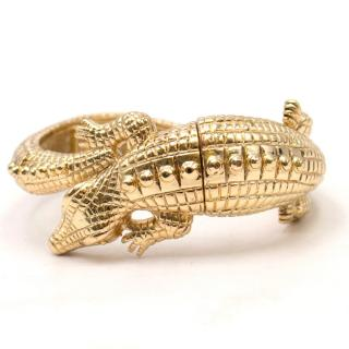 Kenneth Jay Lane Alligator Stretch Bracelet