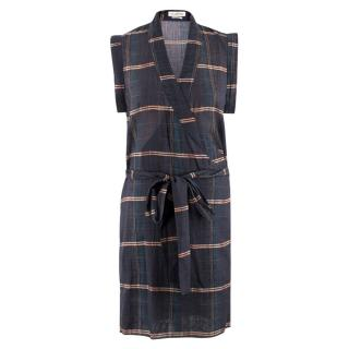 Isabel Marant �toile Check Wrap Dress