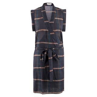 Isabel Marant �toile Check Wrap Dress