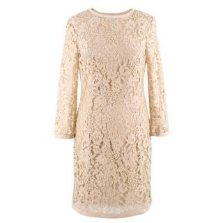 Joseph Nude Lace Dress