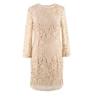 Joseph Nude Lace Dress