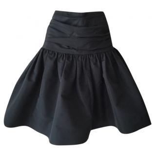 Miu Miu Black Skater Skirt