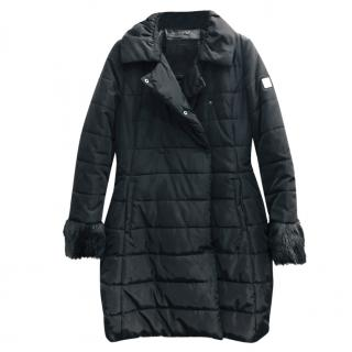 MonnaLisa Girl's Black Padded Puffer Jacket