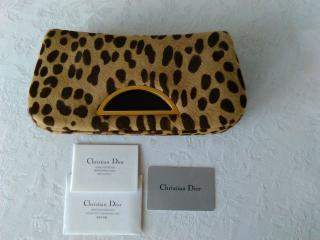 Dior Pony Hair Leopard Print Bag