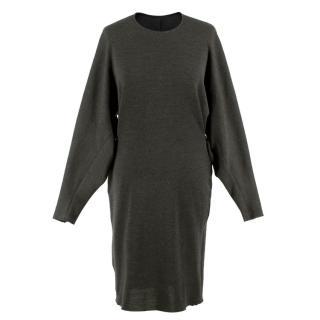 Lanvin Grey Wool Dress