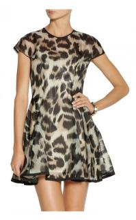 Lover Leopard Print Mini Dress