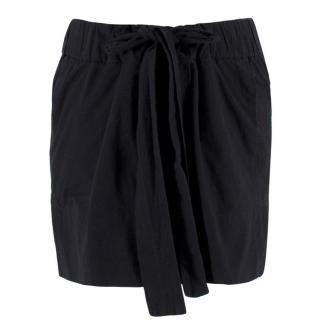 Isabel Marant Etoile Black Tie-waist Skirt