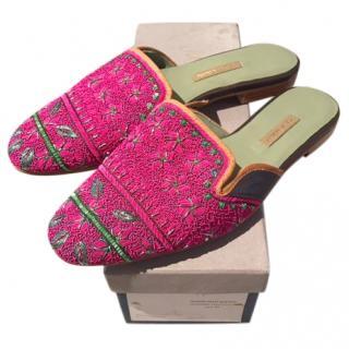 Meher Kakalia Queen Delphi Slippers