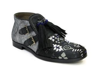 Meher Kakalia Mani Embroidered Boots