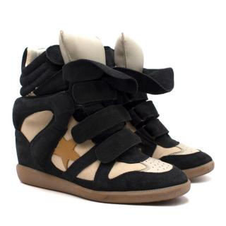 Isabel Marant Beckett Wedge Sneakers