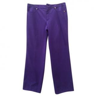 Escada purple pants