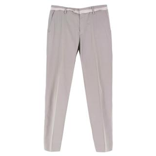 Lanvin Light Grey Classic Tailored Trousers