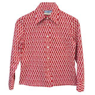 Prada Cotton Printed Shirt