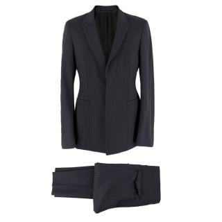 Prada Men's Grey Pinstripe Suit