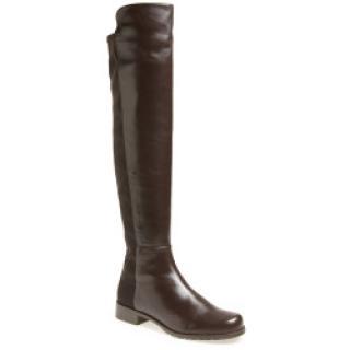 Stuart Weizman Cola Leather 5050 Boots