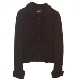 Chanel Black Tweed Jacket