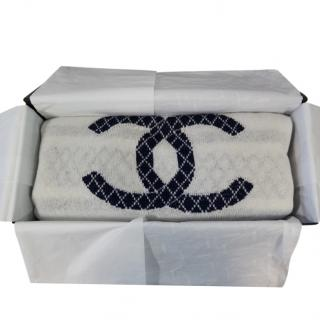 CHANEL Wool Mix CC Scarf - boxed